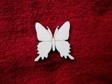 2D výřez motýlek čistý-v.5,5x5,5cm