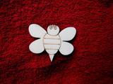 2D výřez včelička-v.5x6,2cm