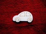 2D výřez autíčko -v.4x6,8cm