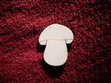 2D výřez houba čistá-v.6,5x5,5cm