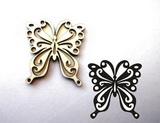 Razítko překližka motýl-v.10x9,2cm