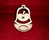 Stojánek na čajovou svíčku zvon+jablíčko