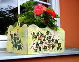 Břečťanový truhlík na květiny