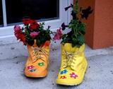 Botky samochodky na kytky :-)