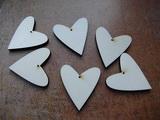 2D výřez Srdce 6x5,5cm-mat.0,5cm