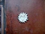 2D výřez Natálčino sluníčko pr. cca 4cm