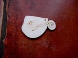 2D výřez na špejli chameleon-v.4,2x6cm
