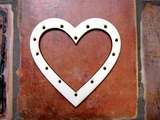 Lapač snů - srdce v.10,5x10,7cm