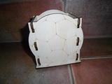 Krabička-stojánek na tužky míč v.13x11,5x9cm