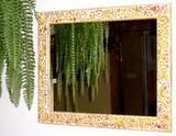 Mozaika - překližkové odřezky