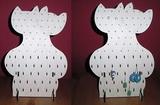 stojánek na šperky DVOJKOČKA  v.28,5x19,5cm