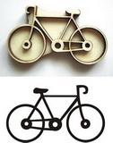 Razítko překližka kolo v.3,8x6,4cm