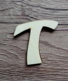 *2D výřez písmeno T v.cca 4,2cm ozd.