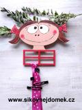 Sponkovník holčička č.2 - dekor