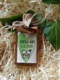 Medovina 20ml - č.9322 - zelené srdce