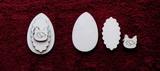 3D zápich na špejli vejce+slepička -3ks