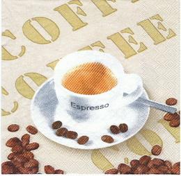 KC 021 - ubrousek 33x33 - espresso coffee