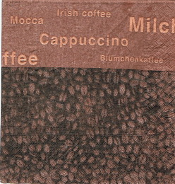 KC 033 - ubrosek 33x33 - cappucino+irish coffee