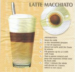 KC 043 - ubrousek 33x33 - latte macchiato