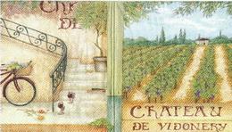 ZA 023 - ubrousek 33x33 - chateau de vidonery