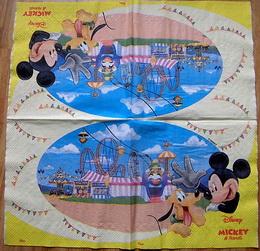 DE 077 - ubrousek 33x33 - mickey mouse na pouti - zvětšit obrázek