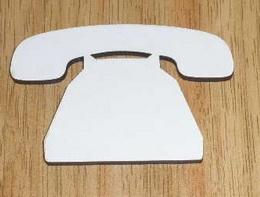 SBHD0108 - prkénko TELEFON 30x20cm