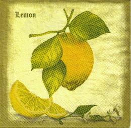 OZ 034 - ubrousek 33x33 - citron