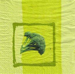 OZ 040 - ubrousek 33x33 - brokolice