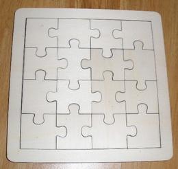 Puzzle na decoupage - skládaèka 1/4V ubr.