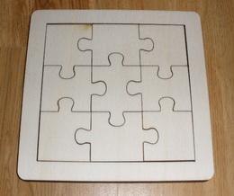 Puzzle na decoupage - skládaèka 1/4M ubr.