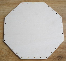 SBPD007 - dno na pedig pøekližka osmihran 23x23cm