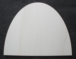 TP3D0166 - Prkénko oblouk malý 20x16cm