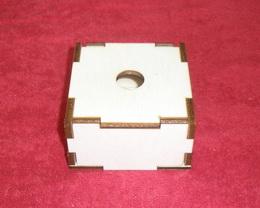 Krabièka /šperkovnice/ 9x9x5 - obyè.