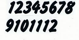 Èísla na hodiny nalepovací èerná - typ è.17 -   v.1,4cm