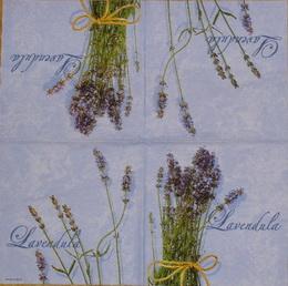 BY 041 AMBIENTE - ubrousek 33x33 - lavendula na fialovém