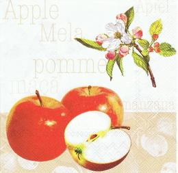 OZ 068 AMBIENTE - ubrousek 33x33 - jablíèko