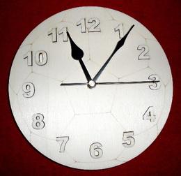 3D hodiny FOTBALOVÝ MÍÈ - pr. 19,5cm