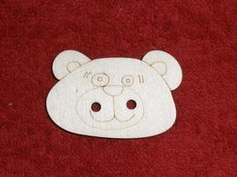 TP3D0263 - Sponka nebo knoflík MEDVÍDEK - 3,5x2,2cm - zvětšit obrázek