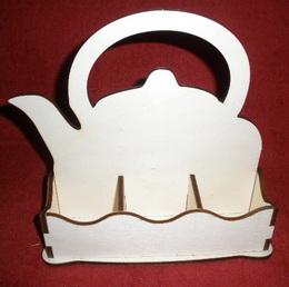 *Stojánek na čaj 6 komor - motiv KONVIČKA - zvětšit obrázek