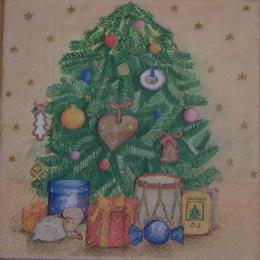 VM 061 - ubrousek 33x33 - vánoèní strom