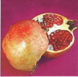 OZ 077 - ubrousek 33x33 - granátové jablko