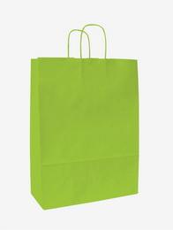 Papírová taška KD sv.zelená 18x8x20cm