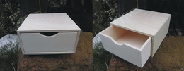 Døevìná krabièka  è.1 na èajové sáèky- v.8x16x16xcm
