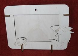 R2V002 - 2v1 rámeèek na šíøku fota 10x15cm - ŽRALOK