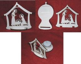 Stojánek na èaj.svíèku vánoèní BETLÉM