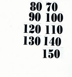 Èísla nalepovací na dìtský metr èerná typ 18 - vel.1,8cm