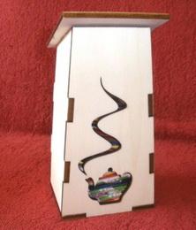Box na èajové sáèky Budka s konévkou
