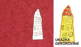 2D výøez DOMEÈEK NATÁLKA - 4x1,9cm