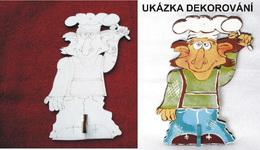 2DV008 - 2D dekoraè.vìšák KUCHAØ 20x12,5cm