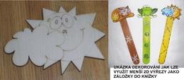 TP3D0052 - Sluníčko s mráčkem 5,5x4cm - zvětšit obrázek